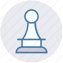 chess, digital, game, pawn, piece, strategy icon