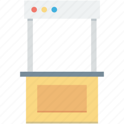 booth, food stand, kiosk, street shop, street stall icon