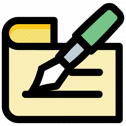 note, note pad, notepad, notes, pen icon