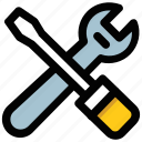 configuration, garage tools, maintenance, repair, settings, tools icon