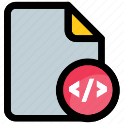 css html, html file, html page, javascript, programming code icon