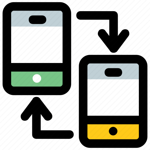 android application, mobile data sharing, mobile sharing, mobile sharing app, mobile sharing feature icon