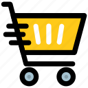 buy online, ecommerce, online store, shopping cart, shopping trolley icon