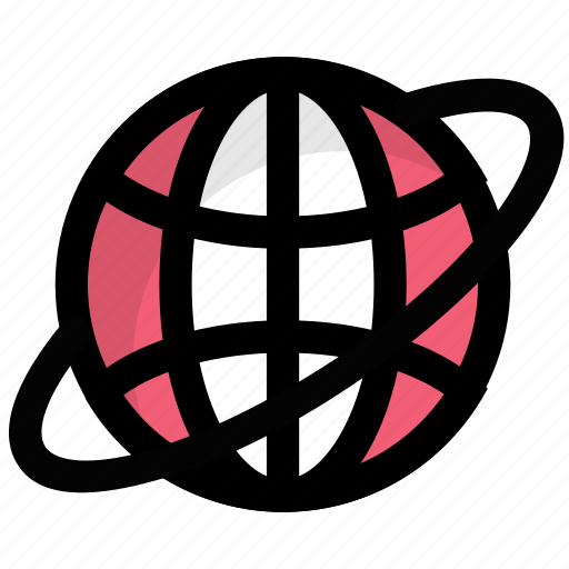 earth, globe, internet, planet, world icon