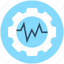 cog, cogwheel, gear, graph settings, settings icon