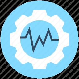 cog, cogwheel, gear, graph settings, settings icon