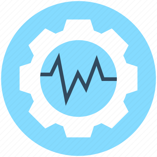 Cog, cogwheel, gear, graph settings, settings icon - Download on Iconfinder
