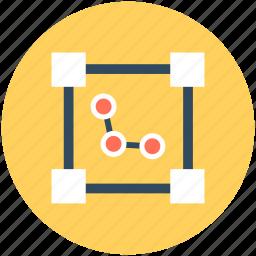 analytics, chart, diagram, diagram table, graph icon