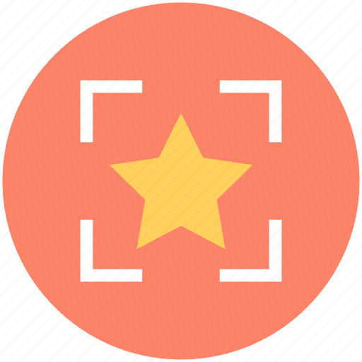 Bookmark, favorite, five pointed, focus, star icon - Download on Iconfinder