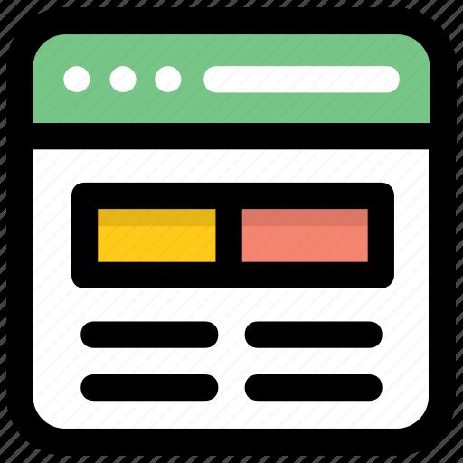 css design, web designing, web graphics, web layout, website layout icon