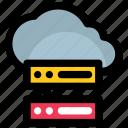 cloud hosting, cloud network, cloud server, cloud services, icloud icon