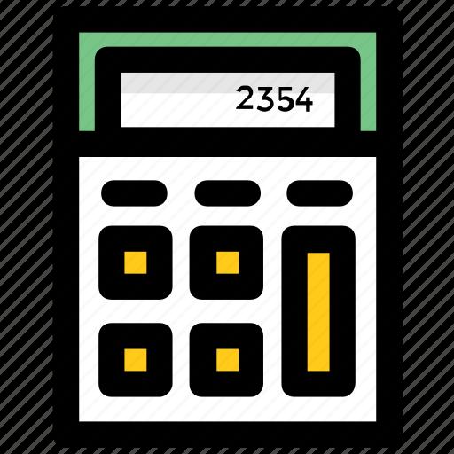 adding, calculate, calculation, calculator, maths icon