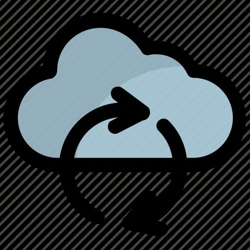 cloud backup, cloud computing, cloud hosting, cloud sync, icloud icon