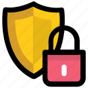 guard shield, security guard, security shield, security symbol, shield lock icon