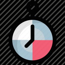 chronometer, clock, pocket watch, stopwatch, timer icon