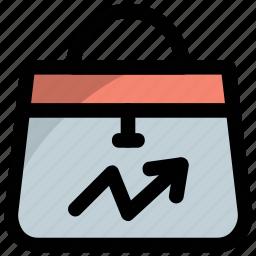market research, sale analysis, sale graph, sales data, sales performance icon