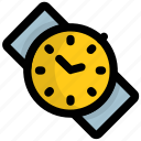 hand watch, timekeeper, timer, watch, wristwatch icon
