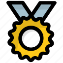 award, medal, success, victory, win icon