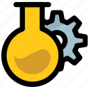 biotechnology, chemical industry, chemical research, microbiology, scientific research icon