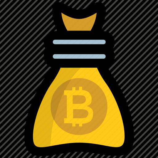 investment, money sack, moneybag, savings, wealth icon