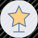 award, digital, prize, star trophy winner cup, trophy icon