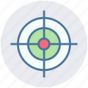 aim, bulls eye, business, digital, goal, startup, target icon