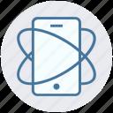 data, digital marketing, mobile, phone, secure, smartphone icon