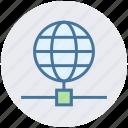 connection, data, digital marketing, earth, globe, world icon