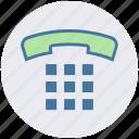 call, communication, digital marketing, digital phone, old, talk, telephone icon