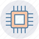 chip, chipset, cpu, hardware, microprocessor, processor icon