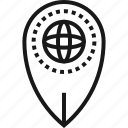 gps, location, map, marker, navigation, pointer, world