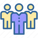 business, digital, employee, group, marketing, people icon