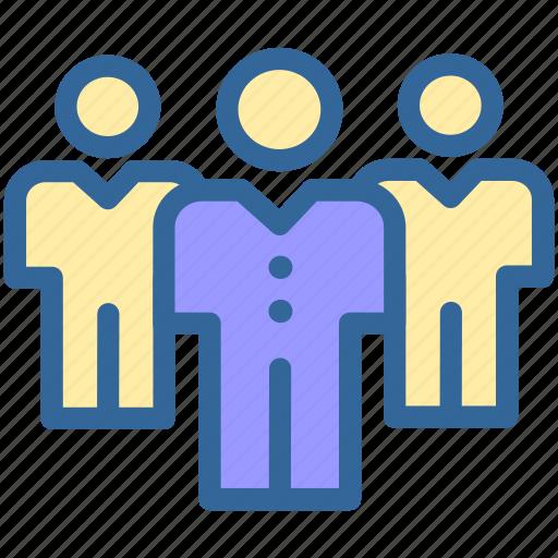 business, digital, employee, group, marketing, people icon