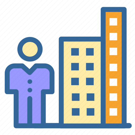 building, business, construction, digital, growt, marketing, office icon