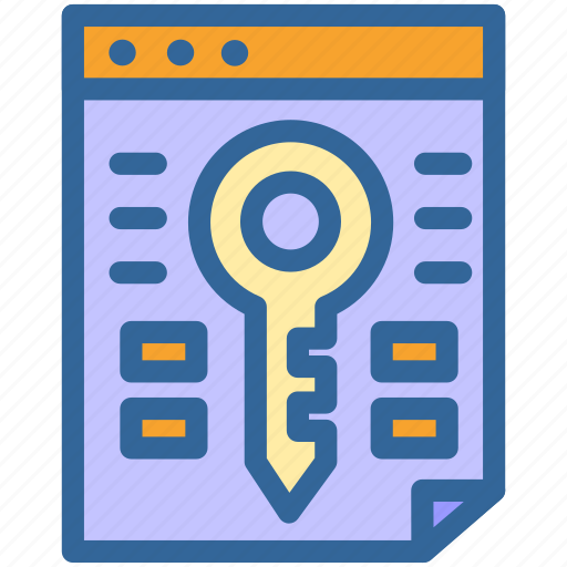 Business, keyword, marketing, research, key, digital, seo icon