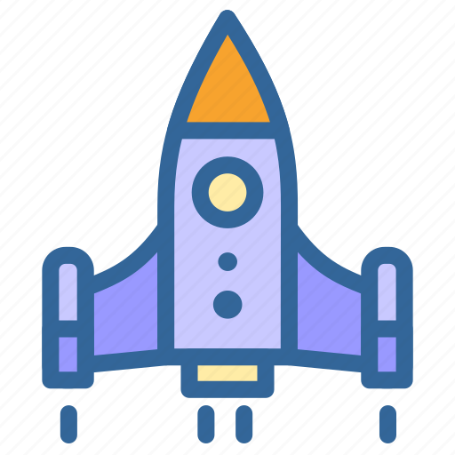 And, business, rocket, marketing, startup, launching icon