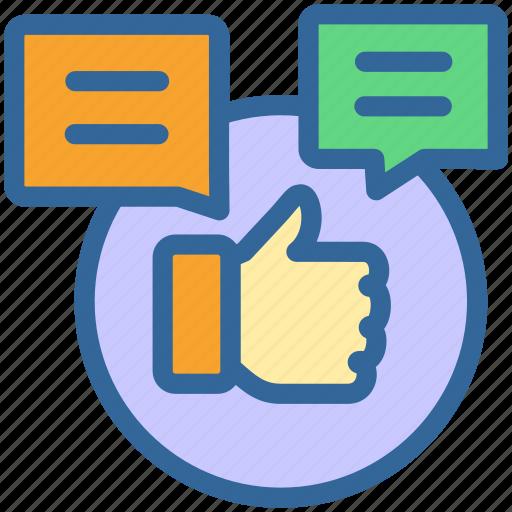 business, like, marketing, media, social, thumbsup icon