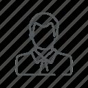 avatar, business man, man, profile icon