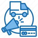 business, connection, data, digital, marketing, promote, technology icon