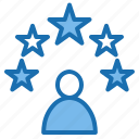 business, connection, data, digital, marketing, rate, technology icon