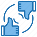 business, connection, data, digital, marketing, response, technology icon