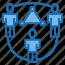 business, data, digital, marketing, network, social, technology icon