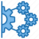 business, connection, data, digital, marketing, solution, technology icon