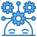 business, connection, data, digital, marketing, strategy, technology icon