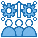 business, connection, data, digital, marketing, team, technology icon
