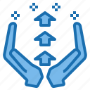 business, connection, data, digital, marketing, technology, value icon