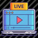 live, stream, video