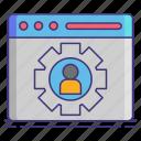 personalization, profile, user icon