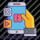 media, multimedia, social