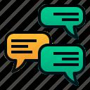 bubble, chat, communication, email, message, promotion